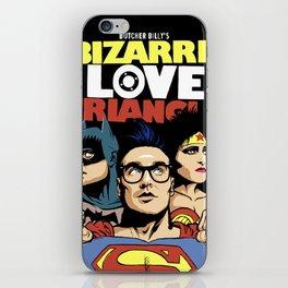 Bizarre Love Triangle: The Post-Punk Edition iPhone Skin