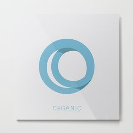 Organic Metal Print