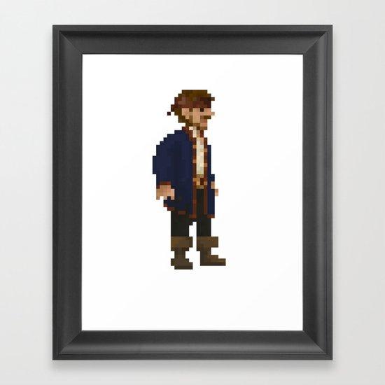 Pixel Ranger Framed Art Print