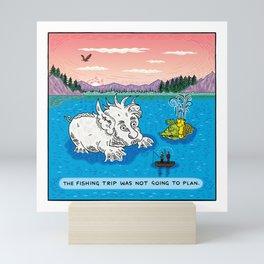 Gone Fishing Mini Art Print