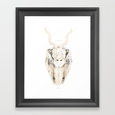 Strength + Power Framed Art Print