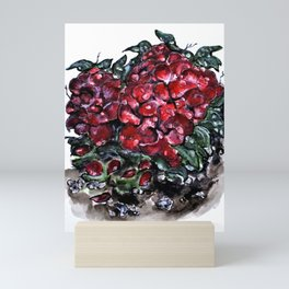 Survivor Rose Bush Mini Art Print