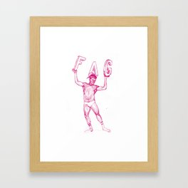 FAG 23 Framed Art Print