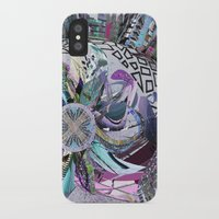 manchester iPhone & iPod Cases featuring Manchester whirl by Sabah