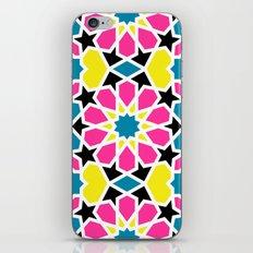 Arabesque CMYK iPhone & iPod Skin