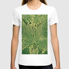 9978s-KD Self Love Explicit Naked Motherboard Fine Art Nude Creative Tech T-shirt