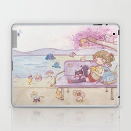 Monsters in the park Laptop & iPad Skin