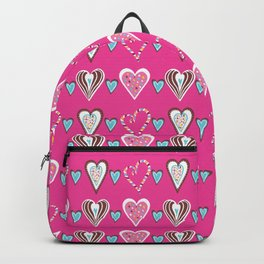 Love Heart Candy Colors Backpack