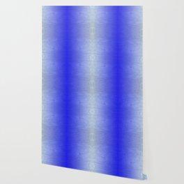 Blue Ice Glow Wallpaper