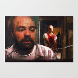 Escape From Sodom - Butch And Zed - Pulp Fiction Canvas Print