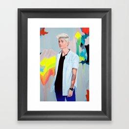 Heyman Framed Art Print