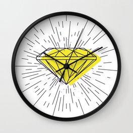 Shiny diamond Wall Clock