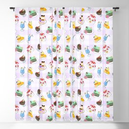 Inner Senshi Sweets Blackout Curtain