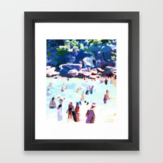 Eleven AM (Shelly Beach) Framed Art Print