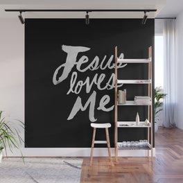 Jesus Loves Me II Wall Mural
