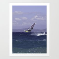 Catching Wind Art Print