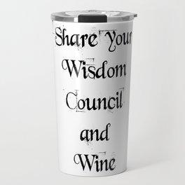 Share Wisdom Travel Mug