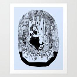 Persephone, Queen of the Underworld Art Print