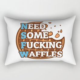 NSFWaffles Rectangular Pillow