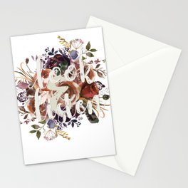 Look & Listen Floral Stationery Cards