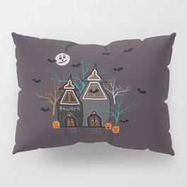 Halloween Haunted Houses Pillow Sham