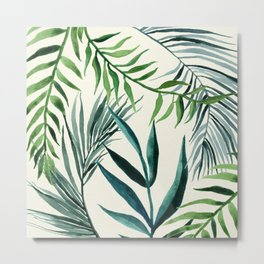 Palm Leaves 1 Metal Print