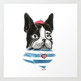 Mlle Panchita Art Print