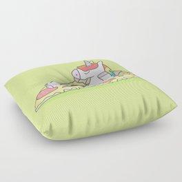 Unicorn Pizza Floor Pillow