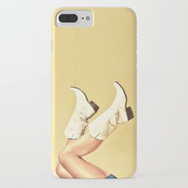 These Boots - Yellow iPhone Case