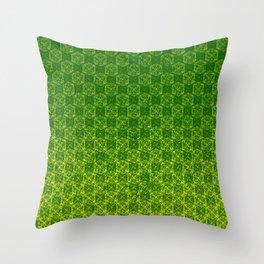 D20 Druid Ranger Crit Pattern Premium Throw Pillow