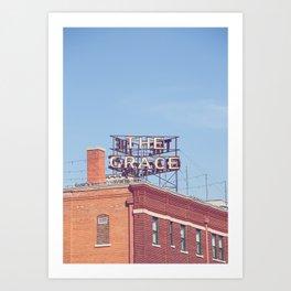 The Grace Abilene Texas Art Print