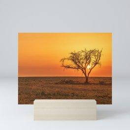Lonely Tree Mini Art Print