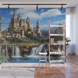 Waterfall City Wall Mural