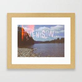 VENISON Framed Art Print