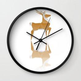 Paper Wings Wall Clock