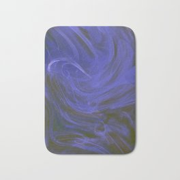 Blue tempest Bath Mat