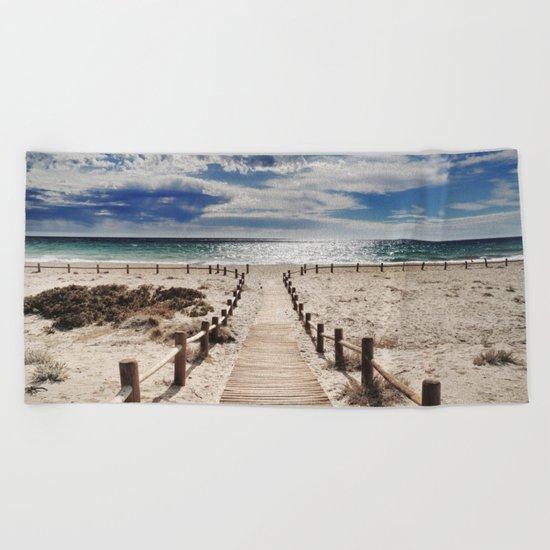 """Cabo de Gata"". Retro serie Beach Towel"