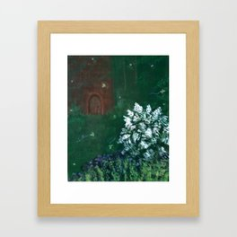 Faerie Woods Framed Art Print