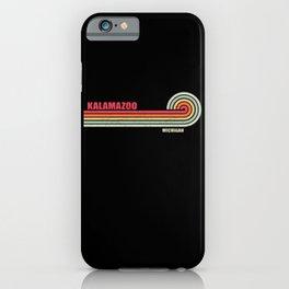 Kalamazoo Michigan City State iPhone Case