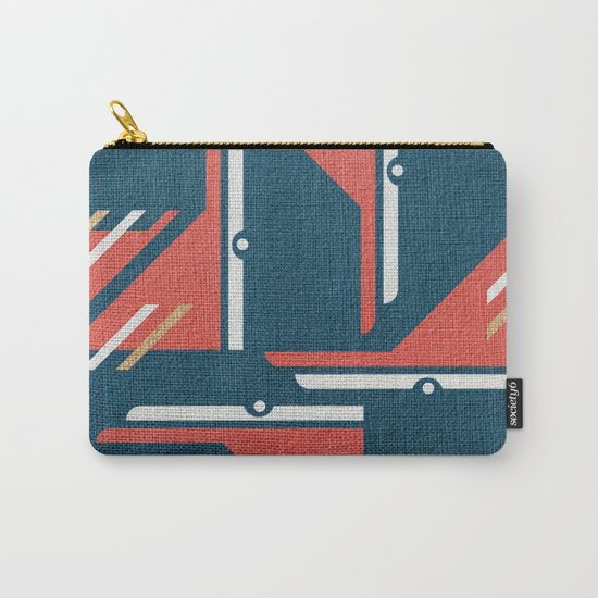 Crazy Birds in Harmony Carry-All Pouch