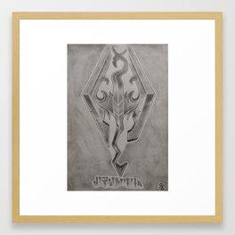 Skyrim Framed Art Print