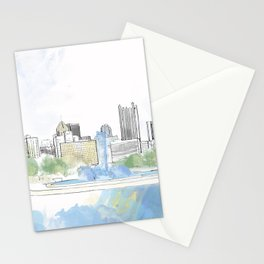 Pittsburgh Point Stationery Cards
