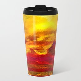 The Red Planet. Travel Mug