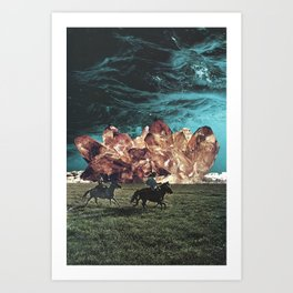 Riders On The Storm Art Print