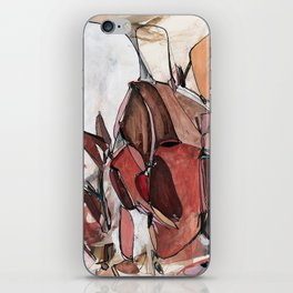 Red Harvest iPhone Skin