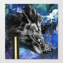 Hog Dreams Canvas Print