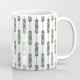 Tribal triangles Coffee Mug