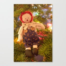 Merry Little Andy Canvas Print