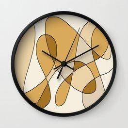 Remain Neutral Wall Clock