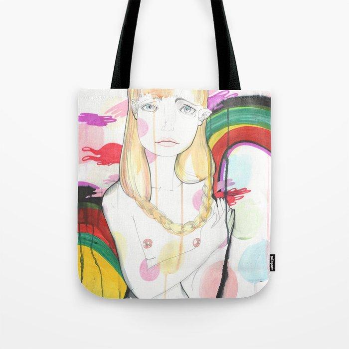 La fille de Siren Tote Bag